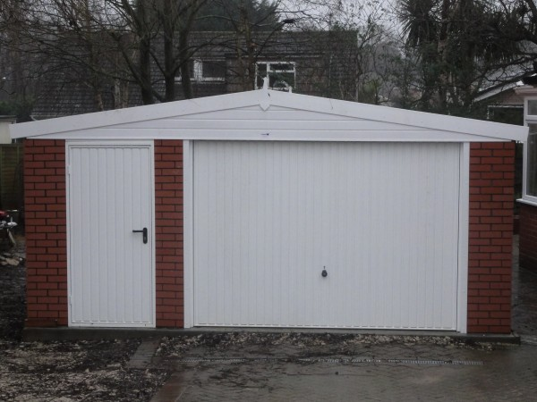 Concrete garages dorset projects for Prefab double garage